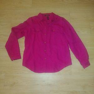 Lauren Ralph Lauren linen blouse